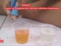 Zemzem Suyunu Test eden Türk
