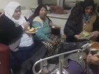Hastane Odasında Çiğ Köfte Partisi Veren Çorumlular