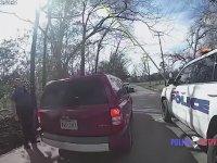 Ağaçtaki Yavru Kediyi Güzelce Kurtaran Polisler