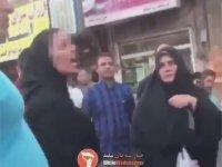 Kadının Kendisini Uyaran Mollaya Tepkisi