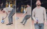 Water Bottle Flip Hareketinde Zirve Yapan Messi