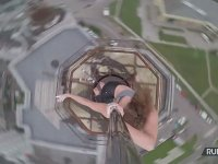 Çatı Katında Dans Eden Marina Korzhenevskaya