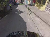 Dar Sokakları 60 Km Hızla Bisikletle İnmek
