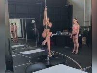 Striptizci Olmaya Hazırlanan Jennifer Lopez