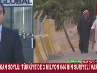 Türkiye'de 3 Milyon 644 Bin Suriyeli'nin Bulunduğunun Açıklanması