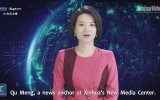 Yapay Zekalı İlk Kadın Sunucunun Tanıtılması  Çin