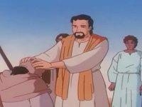 Hz. İsa'nın Hastaya Dokunarak İyileştirdiği Irkçı Çizgi Film