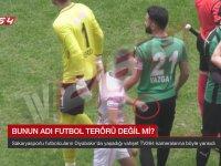 Amedsporlu Futbolcuların Rakiplerini Jiletlemesi
