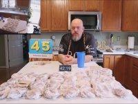 67 Tane Hamburger Yiyen Adam