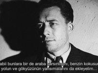 Albert Camus'un Sesinden Yabancı'nın İlk Kısmı (1942)