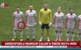 Mansur Çalar'ın Futboldan Men Edilmesi