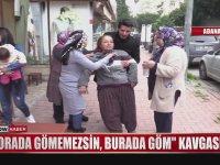Cenaze İçin Kavga Eden Gelin Kaynana (Adana)