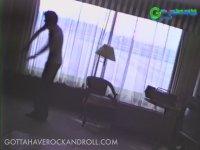 Michael Jackson - Moonwalk Dansını Çalışırken (80'ler)