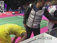 Bitmek Bilmeyen Badminton Rallysi