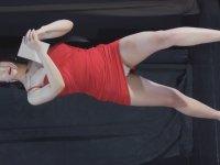 Elbise ve Topuklularla Spor Yapmak