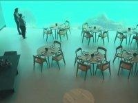 Deniz Altında Hizmet Veren Restoran