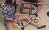 Vajinası Kıvılcıma Dayanıklı Çinli Kız