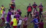 Brezilya'da Meydan Muharebesine Dönen Futbol Maçı