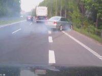 Yaptırdığı Kazayı Umursamayan Sürücü