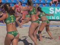 Brezilya Kadın Plaj Hentbol Takımı