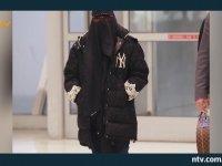 Madonna'nın Burka Giymesi