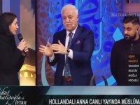 Nihat Hatipoğlu'nun Programında Müslüman Olan Anna