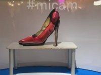 Vücut Boyama Sanatı ile Ayakkabı Şekline Giren Kadın