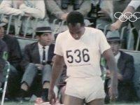 100 Metreyi 10 sn Altında Koşan İlk Atlet - Jim Hines Meksika (1968)