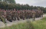 Galatasaray Marşıyla Coşan Askerler