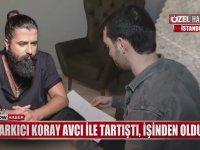 Koray Avcı'nın Güvenlikçiye 'Sana İstanbul'da Ekmek Yedirmem' Demesi