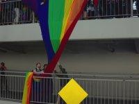 LGBT Eylemini Tek Başına Sonlandıran Adam