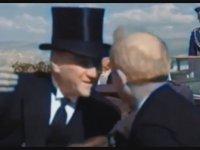 Yapay Zeka ile Renklendirilmiş Yüksek Kalitede Atatürk Videosu