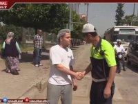 Ceza Olarak Yaya Geçidinden Yürütülen Sürücü - Adana