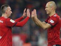 Franck Ribery ve Arjen Robben Kapışması