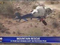 Helikopterle Kurtarıldığına Pişman Olan Kadın