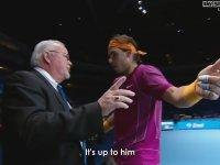 Nadal'ın Dellendiği Anlar