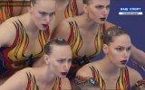 Rus Su Balesi Takımı  2018 Avrupa Şampiyonası Gösterisi