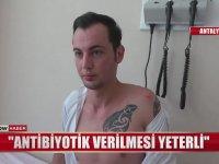 Kavga Ettiği Adam Isırınca Kuduz Aşısı Olan Genç