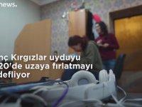 Ülkenin İlk Uydusunu Yapan Kırgız Kadınlar