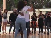 Kizomba Dansının Hakkını Veren Çift