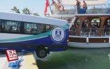Bodrum'da Tekneyle Minibüsün Çarpışması