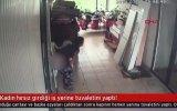Hırsızlık Yaptığı İş Yerine Sıçan Kadın