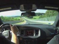 Kontrolör Eşliğinde Çılgınca Charger Hellcat Turu Atmak - Nürburgring