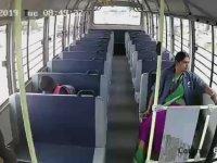 Okul Servisinin Şaşırtan Kazası