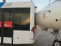 Otobüse Çarpan Yolcu Uçağı
