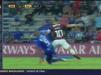 Diego Ribas'in Ayağının Kırılması
