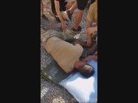 Kum Torbasıyla Koşturulan Askerin Bayılması