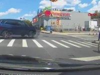 Arabaların Kazasına Kurban Giden Bisikletli