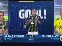 Fenerbahçe'nin Başakşehir'e Attığı Gollerde FB TV Spikerleri