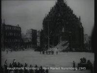 Nuremberg/Nürnberg 1945 ve Bugün Karşılaştırması.